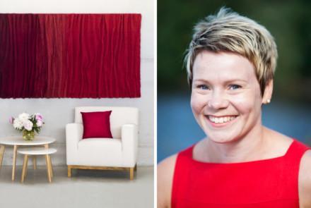 Valokeilassa tekstiilisuunnittelija Niina Hiltunen